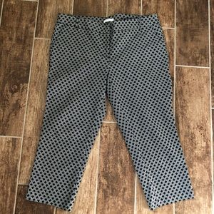 DALIA Cropped Pants Capris Women's 14 EUC